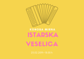 (Hrvatski) ISTARSKA VESELICA U KONOBI MIRNA
