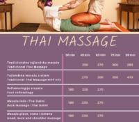 Tajlandska masaža – ravnoteža energije u vašem tijelu