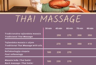 (Hrvatski) Tajlandska masaža – ravnoteža energije u vašem tijelu